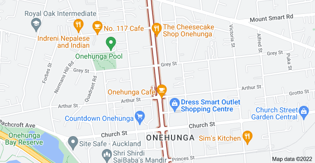 Location of Onehunga Mall
