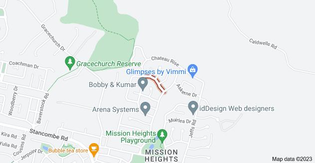 Location of Vin Alto Drive