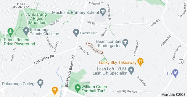 Location of Malvina Place