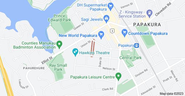 Location of Menary Street