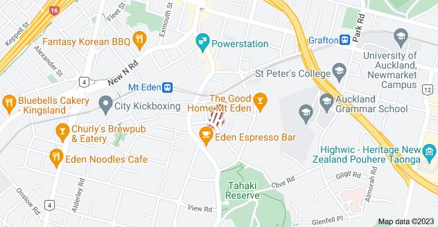 Location of Mary Street