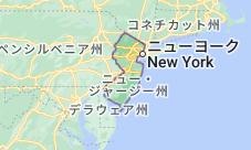 Location of ニュージャージー州