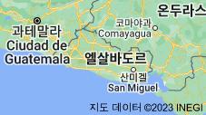 Location of 엘살바도르