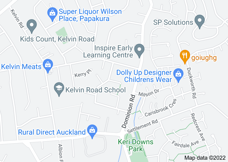 Location of Harrier Place