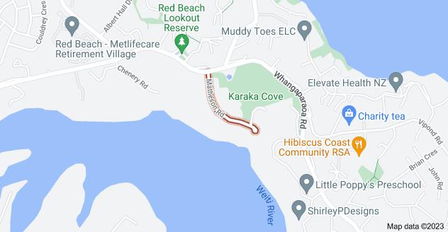 Location of Matheson Road