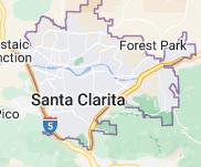 Map of Santa Clarita