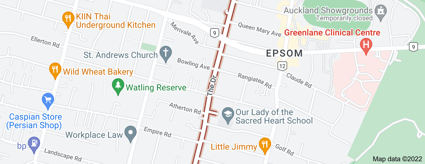 Location of The Drive