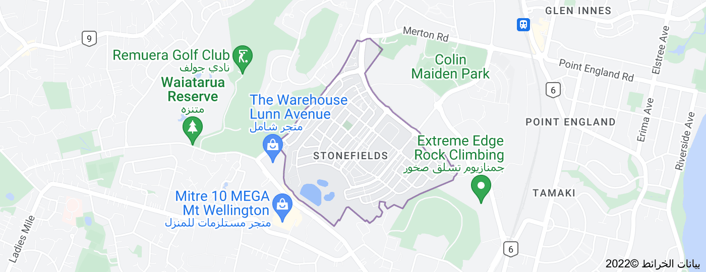Location of Stonefields