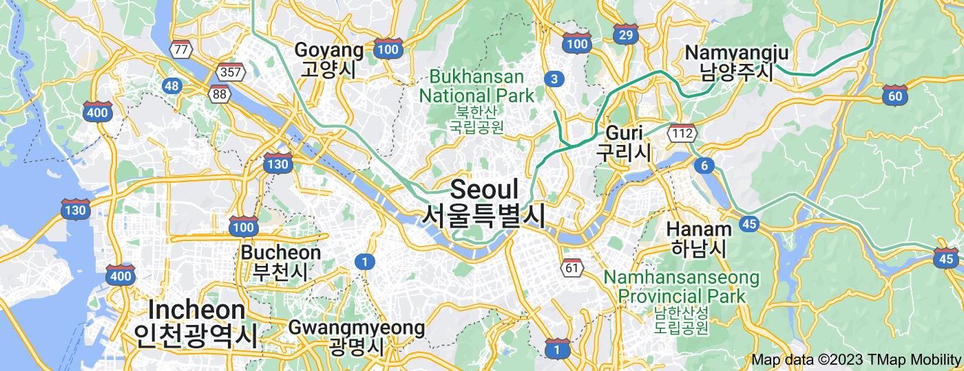 Location of Seoul