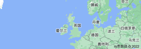 Location of 英国