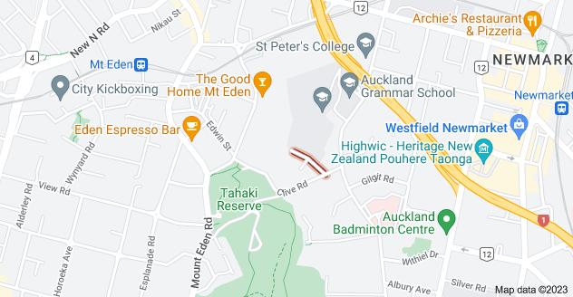 Location of Barnett Crescent