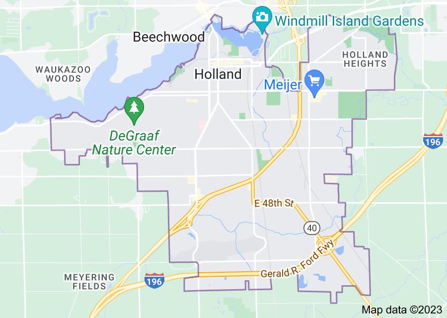 Location of Holland