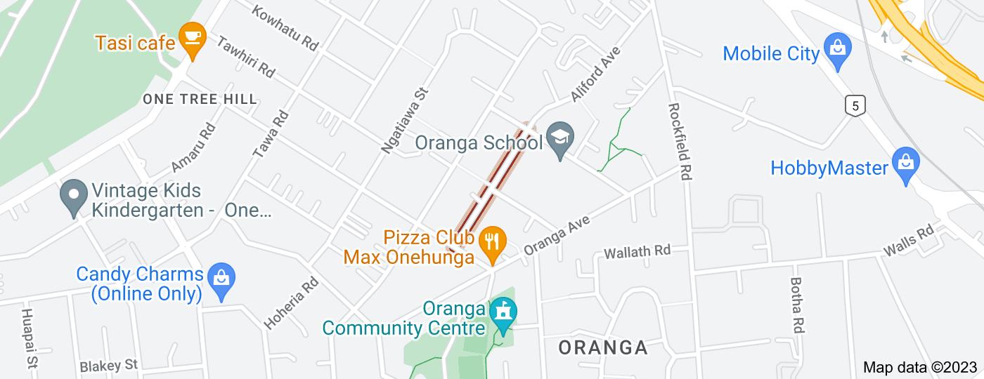 Location of Rangipawa Road