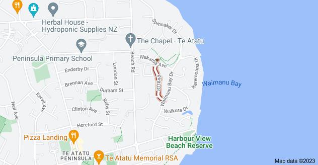 Location of Piriti Drive