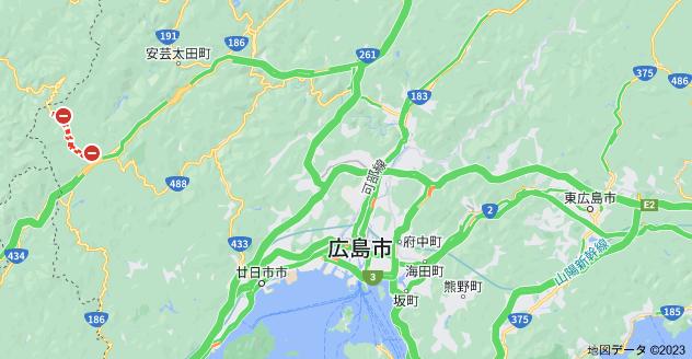 広島県広島市の地図