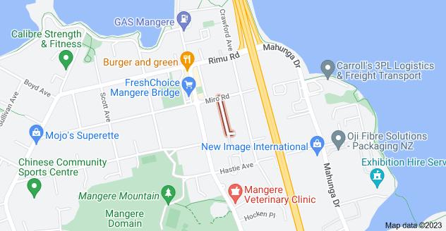 Location of Kohanga Road
