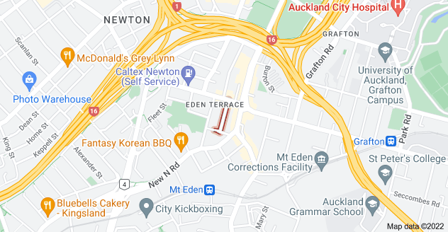Location of Dundonald Street