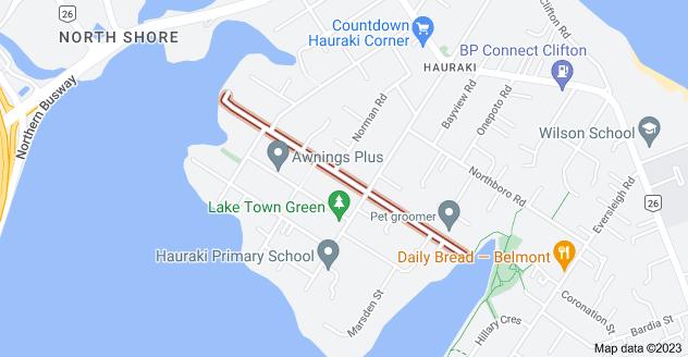 Location of Francis Street