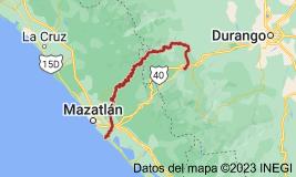 Mapa de Río Presidio