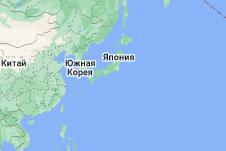 Location of Япония