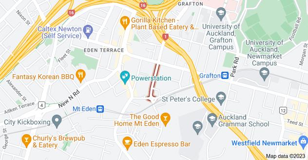 Location of Nugent Street