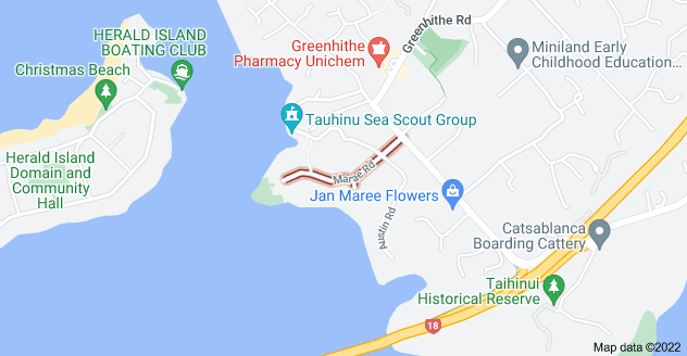 Location of Marae Road