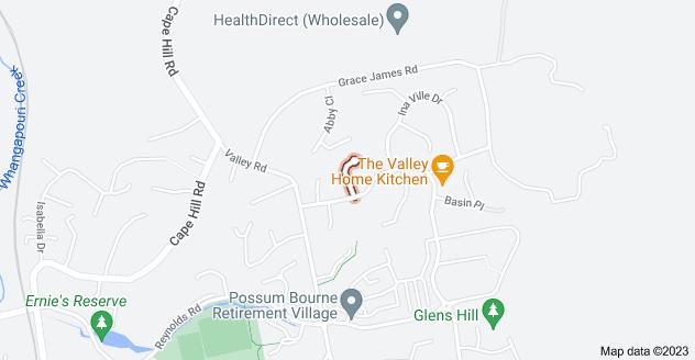 Location of Arthur Carwen Place