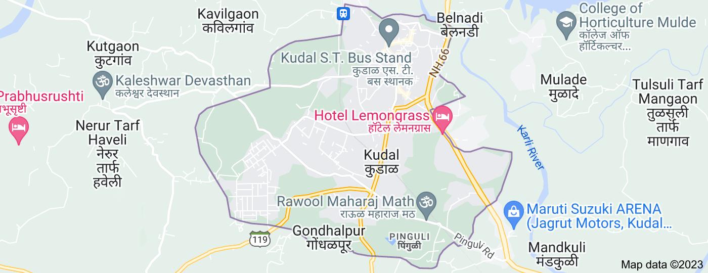 Location of Kudal