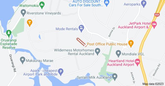 Location of Penihana Place