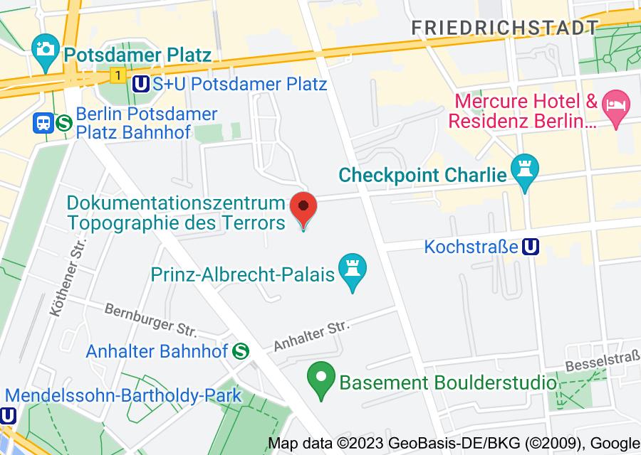 Location of Topography of Terror