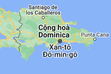 Location of Cộng hòa Dominica