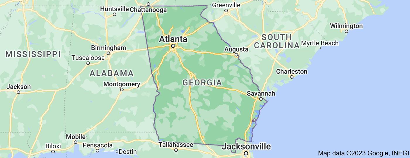 Location of Georgia