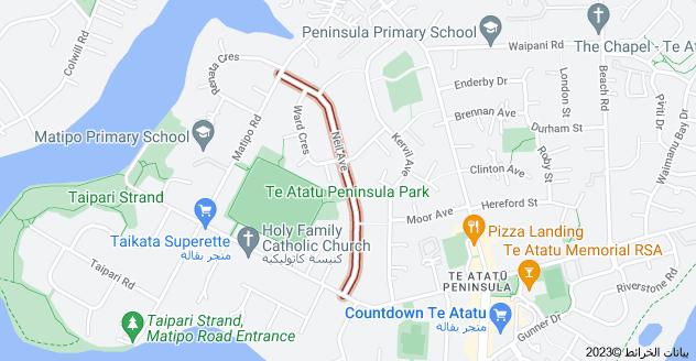 Location of Neil Avenue