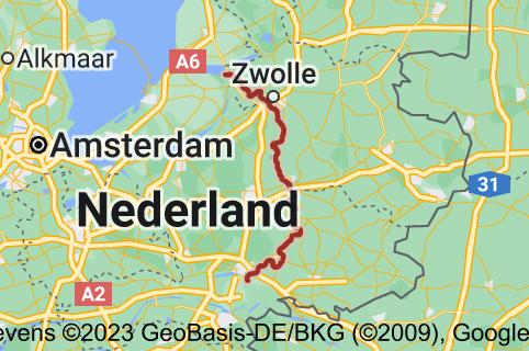 Kaart van IJssel