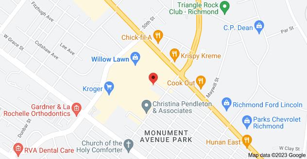 Map of 4915 Radford Ave #100, Richmond, VA 23230