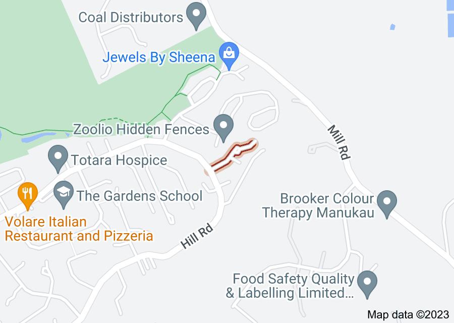 Location of Aldon Lane