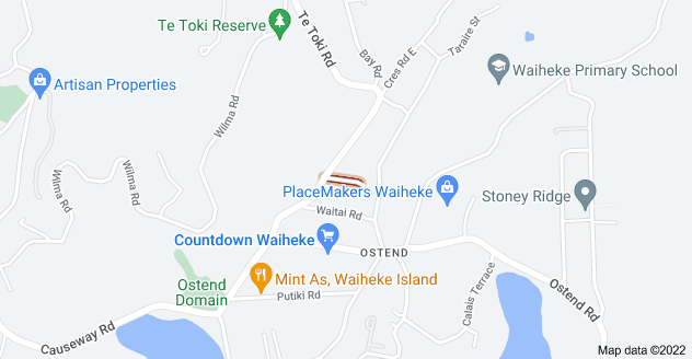 Location of Muritai Road