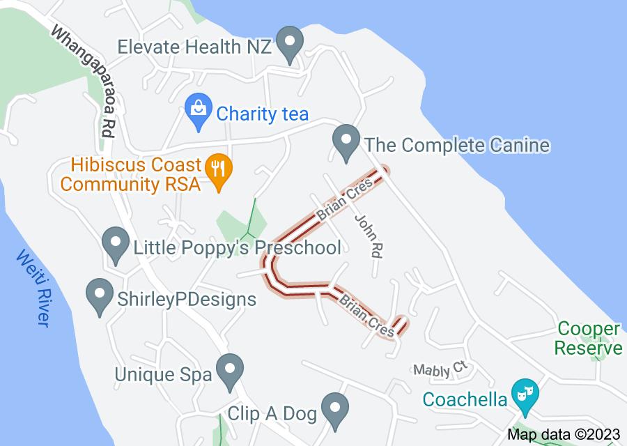 Location of Brian Crescent
