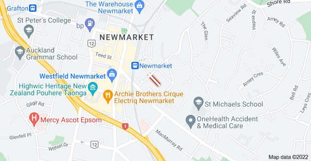 Location of Lauriston Avenue