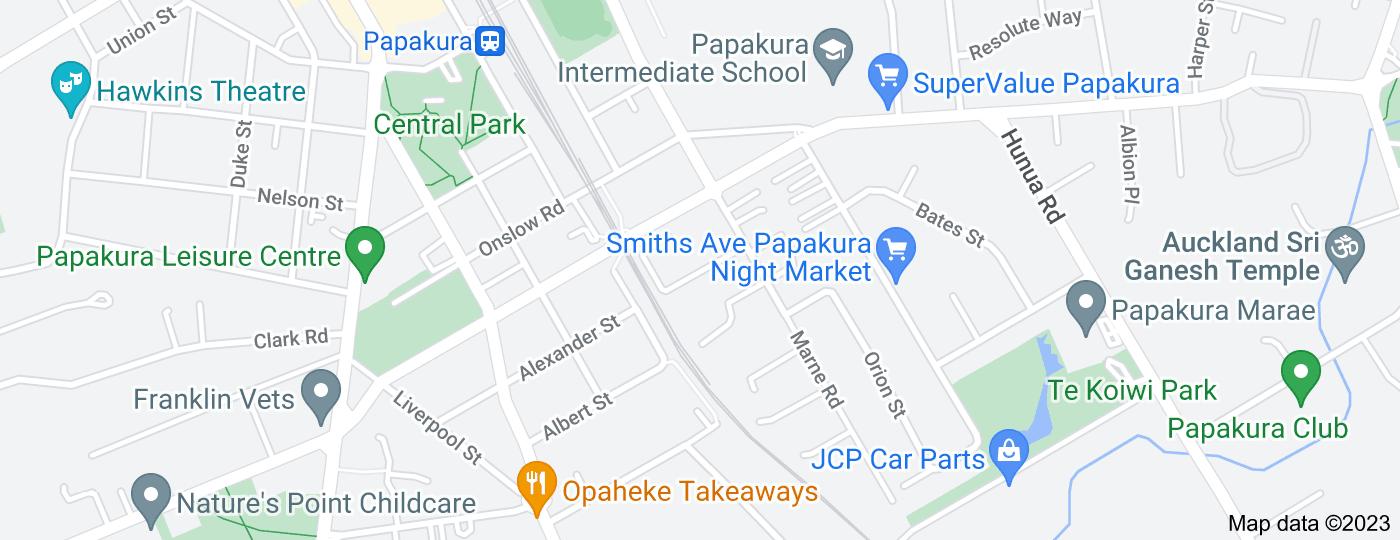 Location of Pratt Street