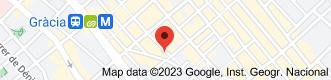 Location of Institute Vila de Gràcia