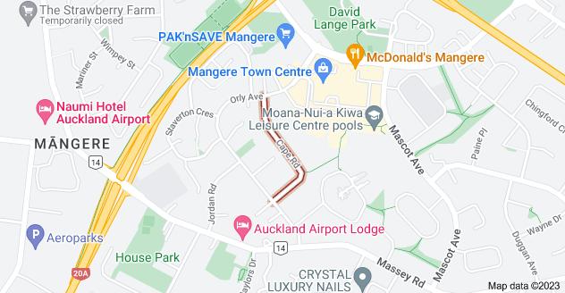 Location of Cape Road
