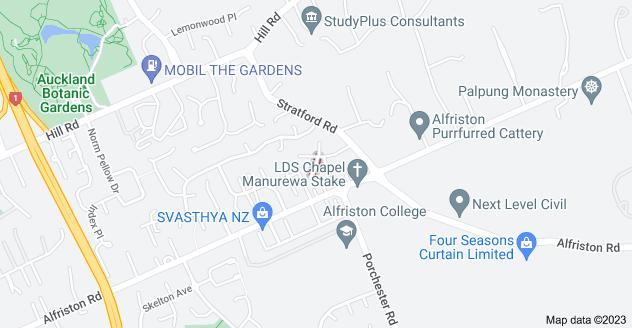 Location of Abilene Place