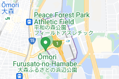 Location of 平和島