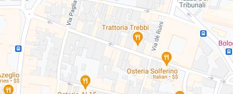 Mappa del luogo dove ha sede l'attività