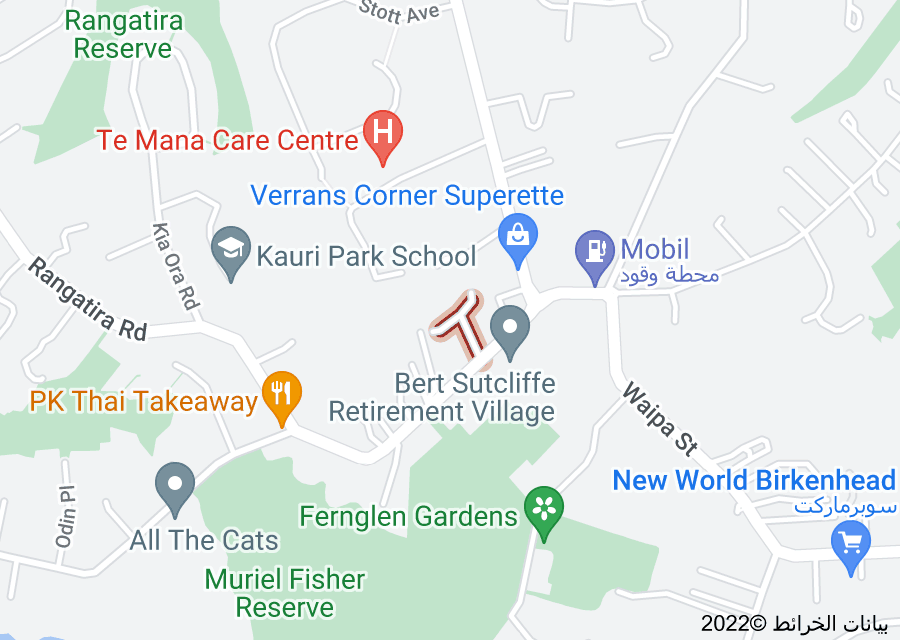 Location of Monte Cassino Place