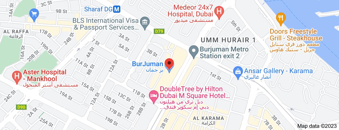 Location of BurJuman