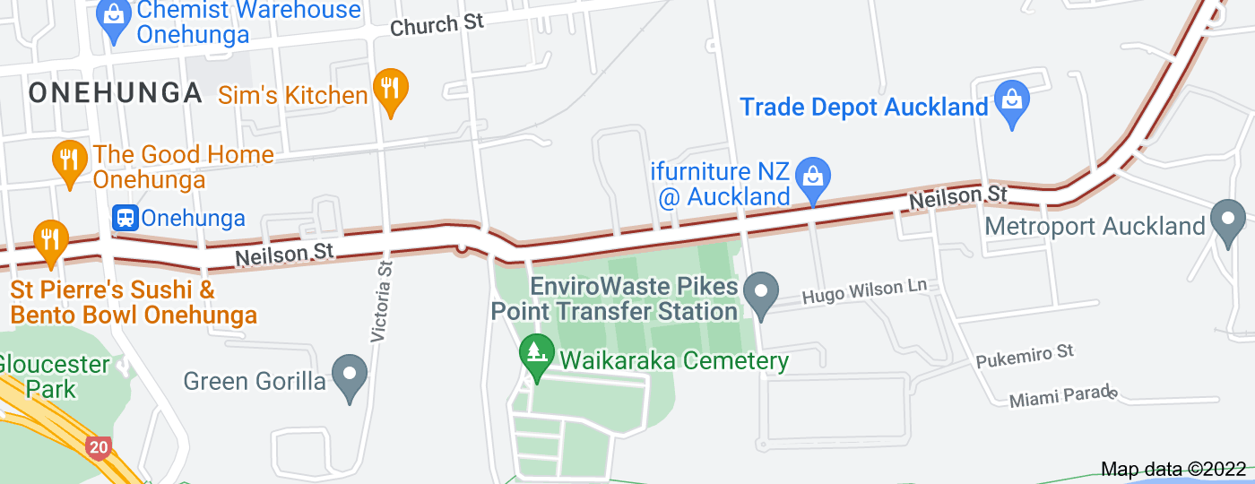 Location of Neilson Street
