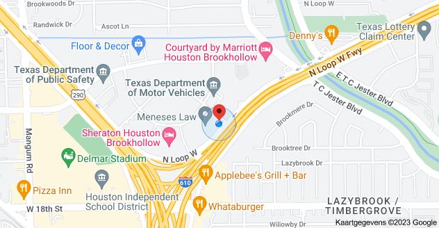Kaart van 2800 N Loop W, Houston, TX 77092