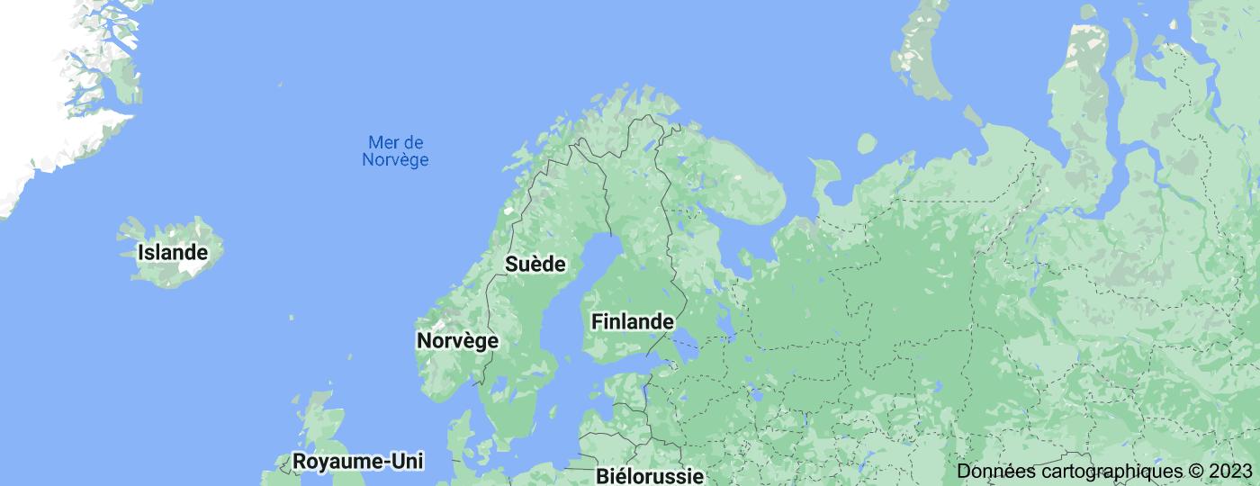 Location of Finlande